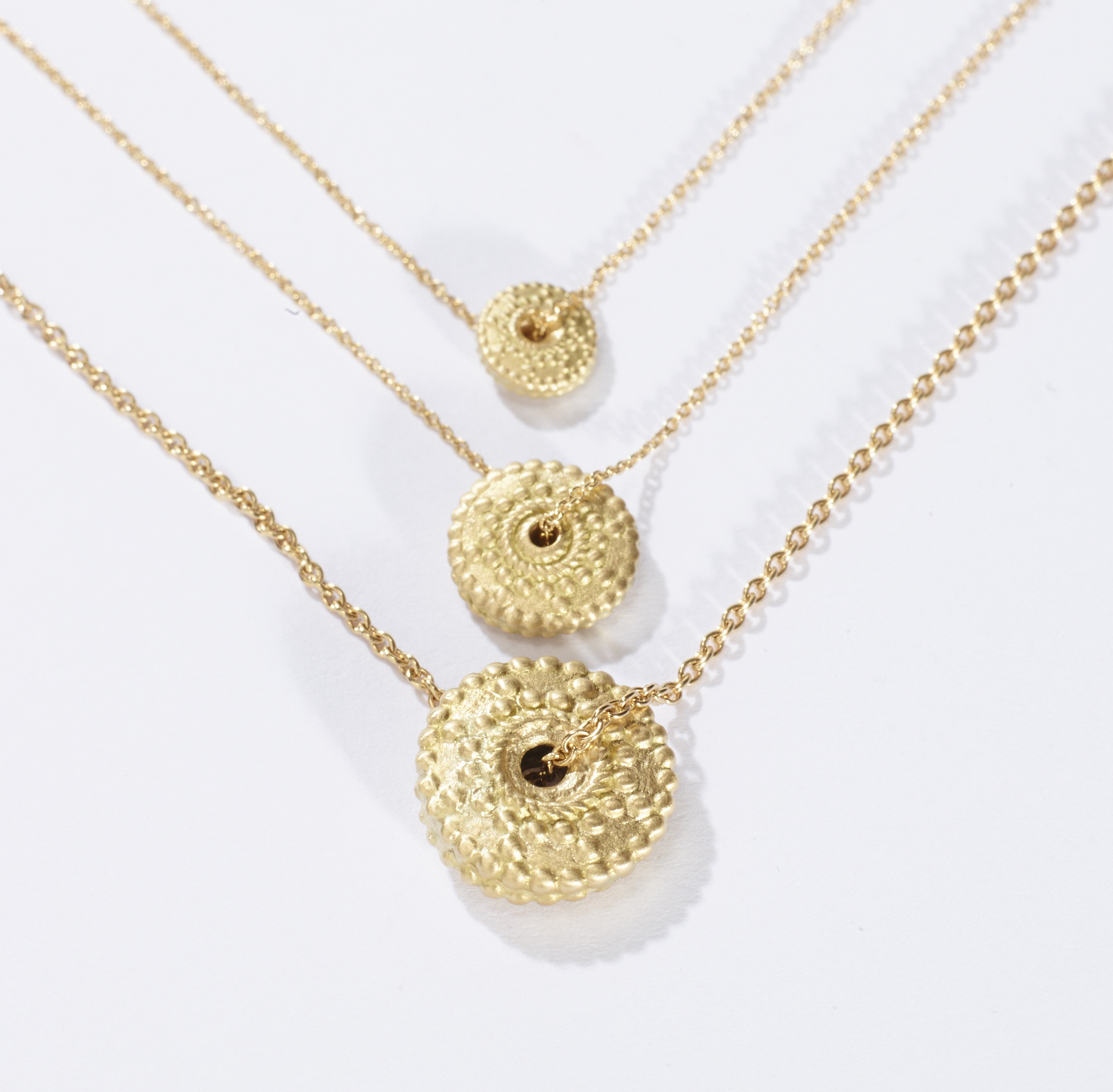 Granulated Pendant Collection