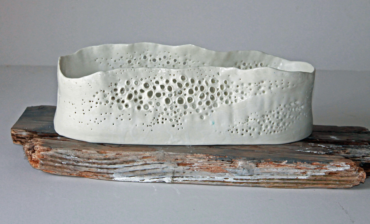 Barnacle Shell oval dish
