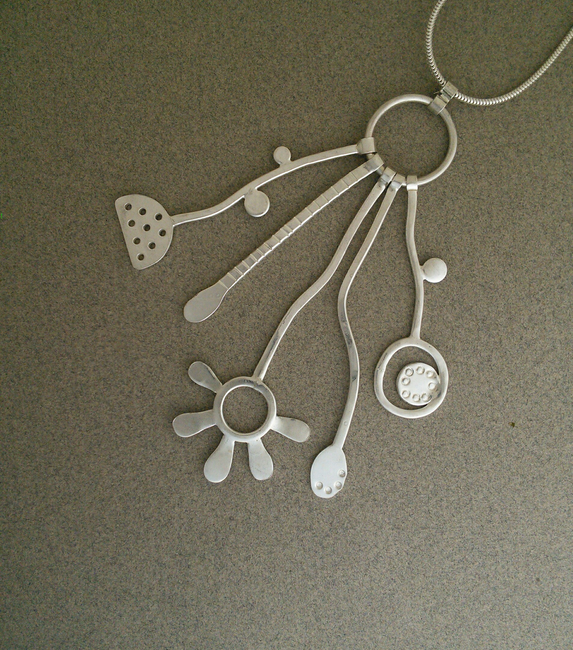 Seed heads and Grasses Pendant 2