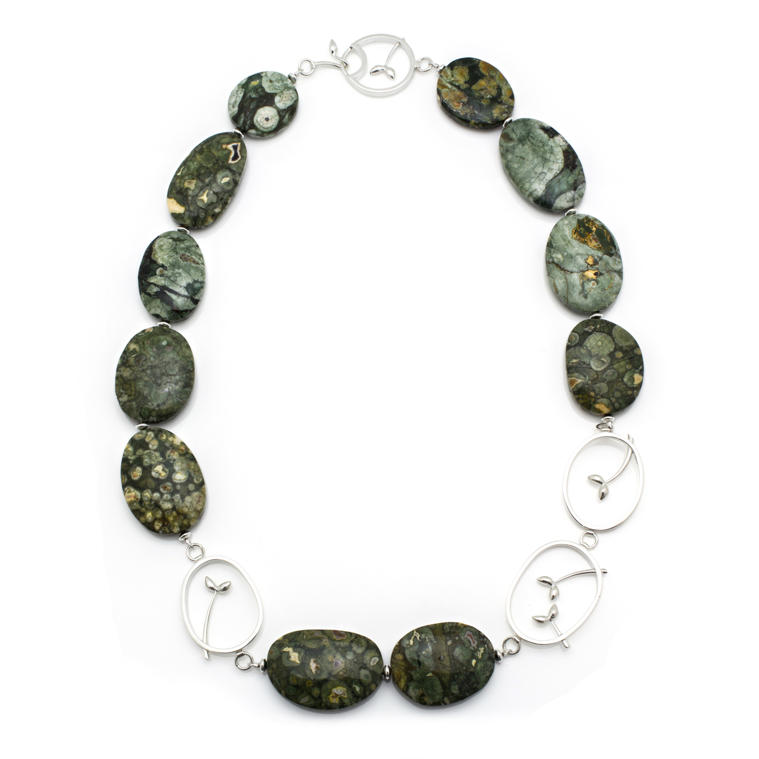 Riverside Ryolite Necklace