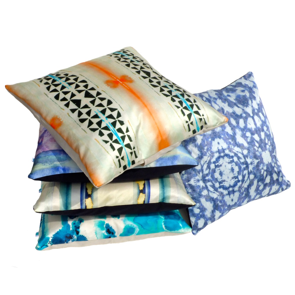 'After the Rain' Cushions