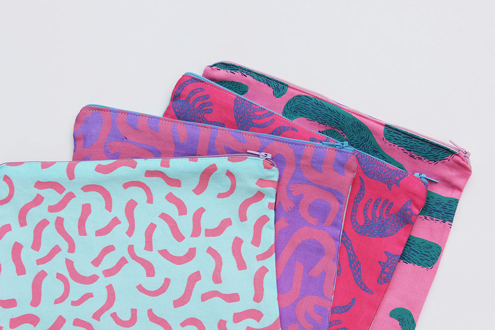 Large mixed print bags