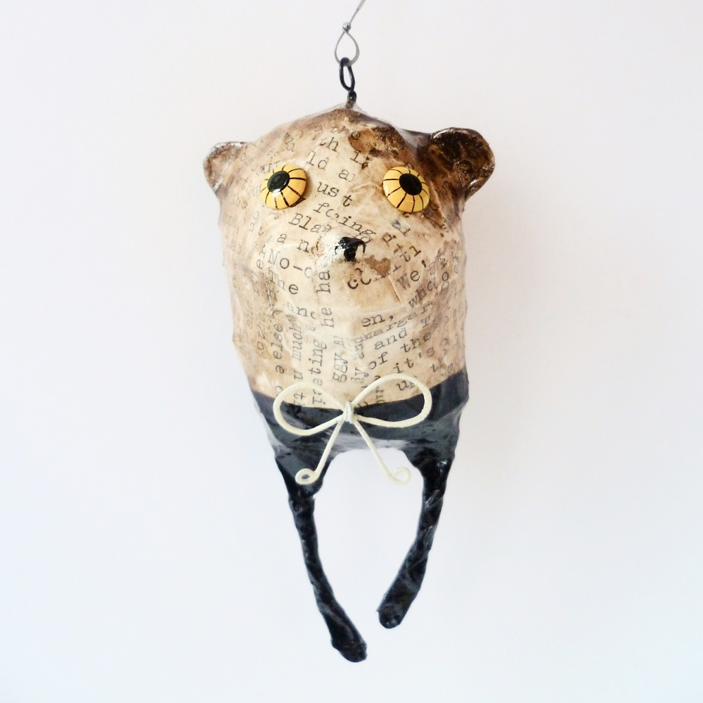 Bear hanging decoration